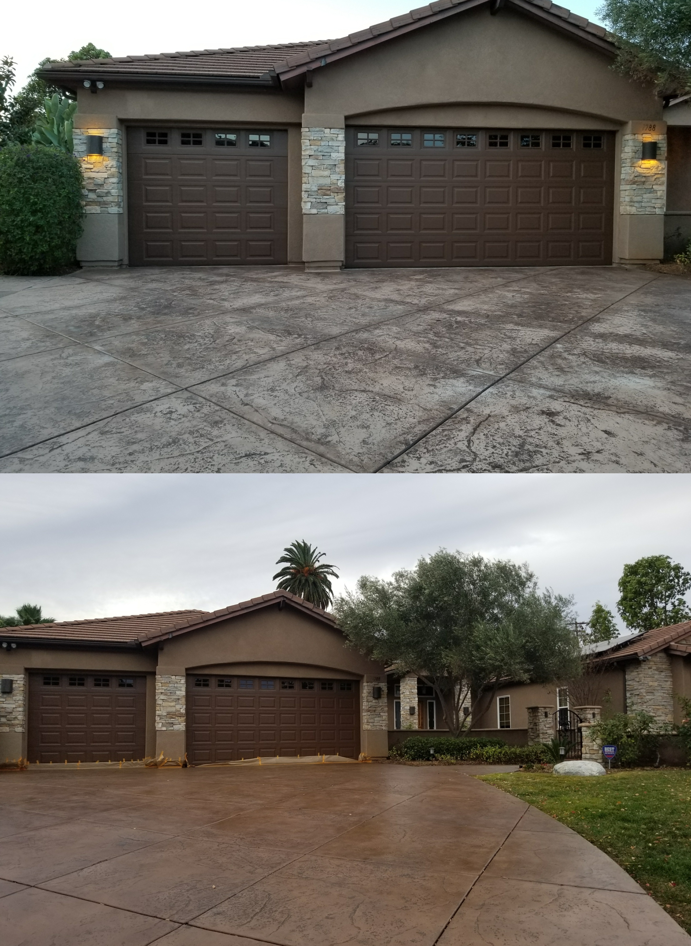 before-and-after-pool-driveway