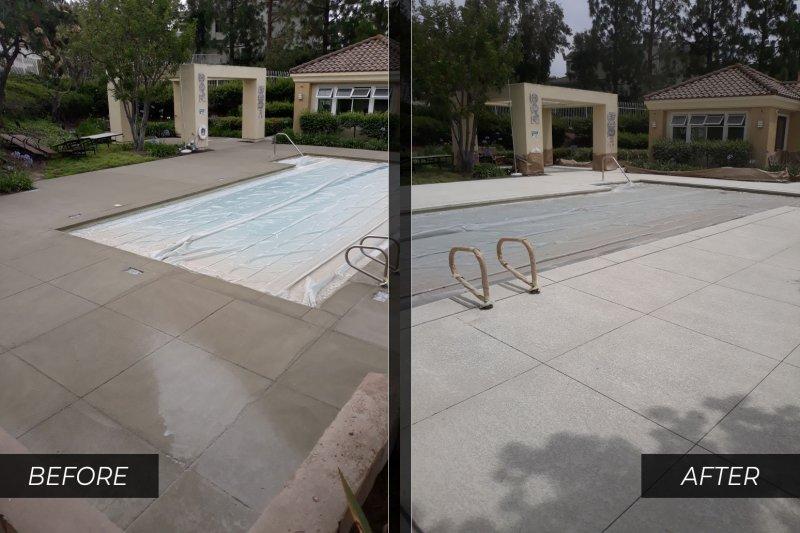 commercial pool deck repair orange county