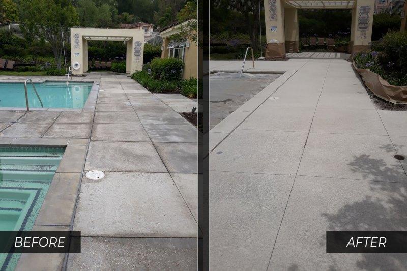 concrete pool deck refinishing orange county