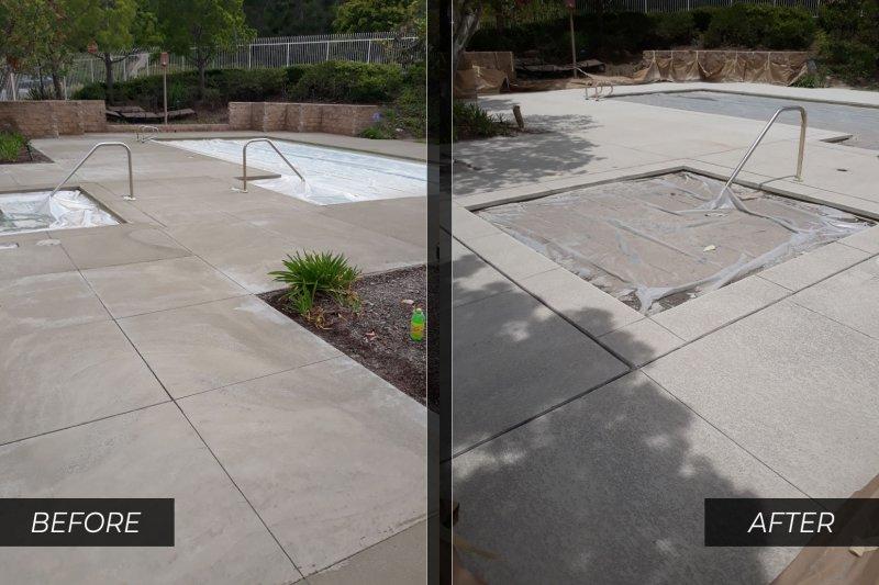 concrete pool deck repair orange county