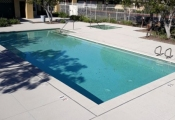 commercial swimming pool deck orange county