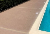 refinishing commercial swimming pool deck orange county