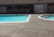 commercial pool deck sealing