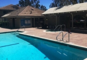 resurfacing commercial swimming pool deck orange county