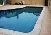 slip-resistant pool deck