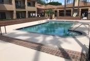 concrete resurfacing pool deck