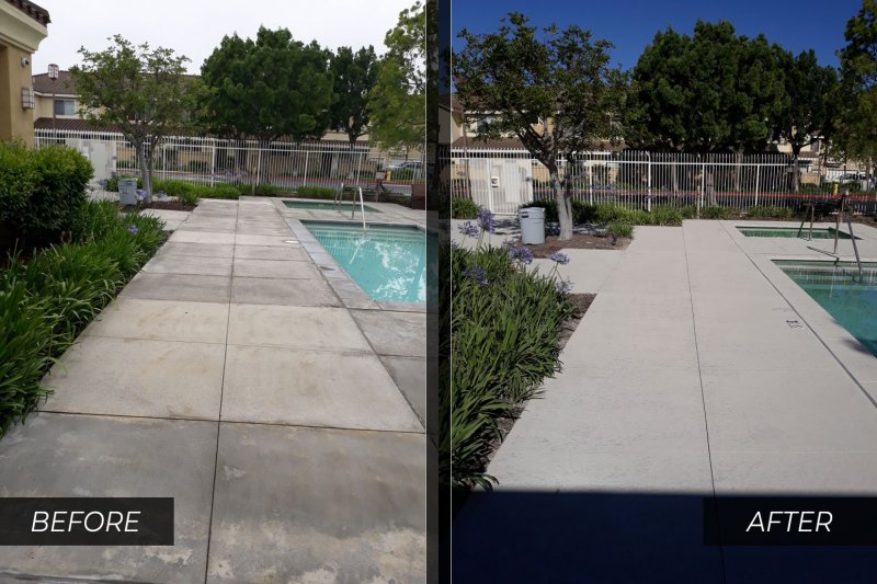 slip-resistant pool deck orange county