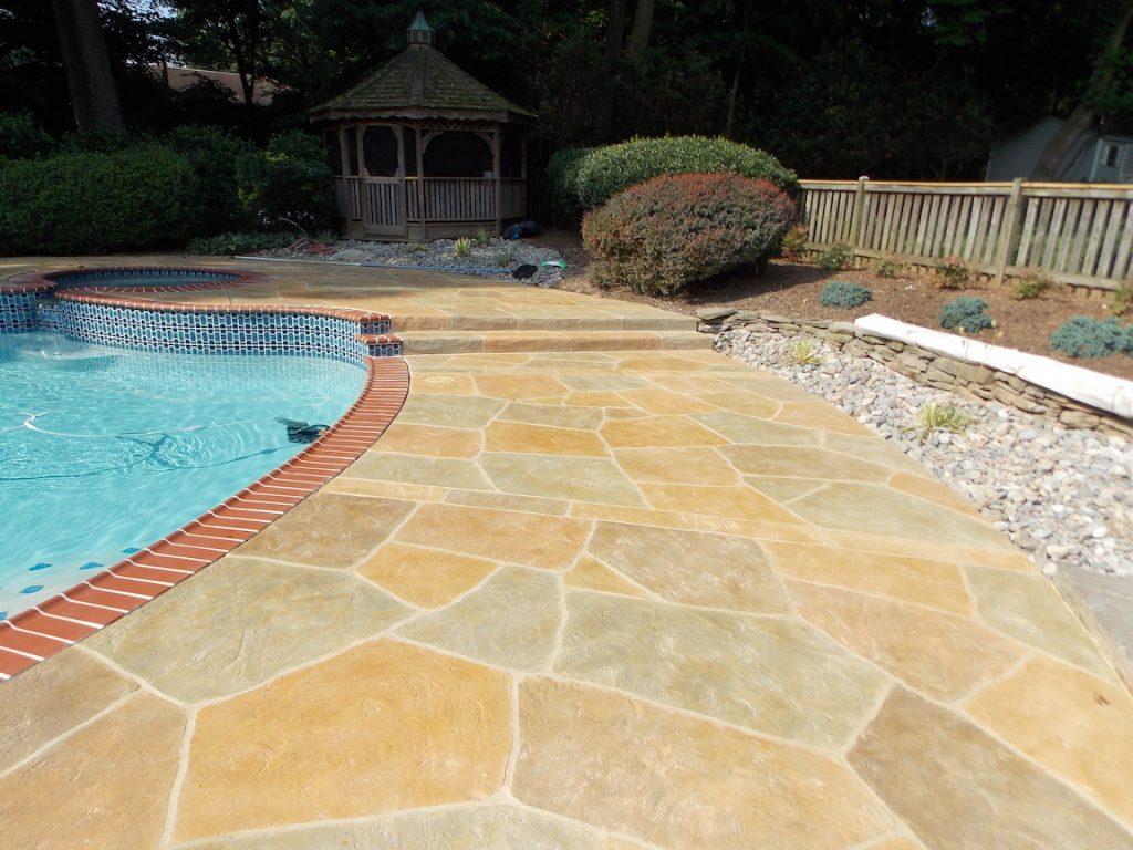 pool deck tinted sealer