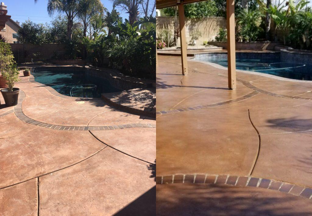 two types of pool decks