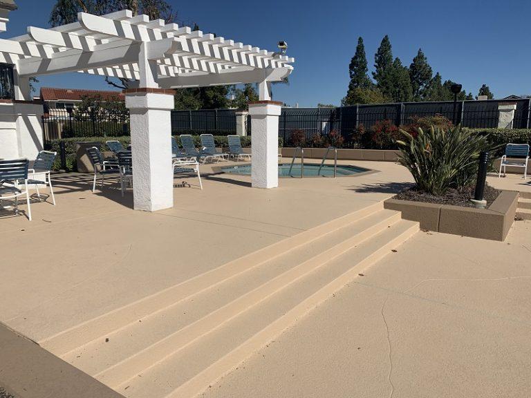 commercial pool deck repair