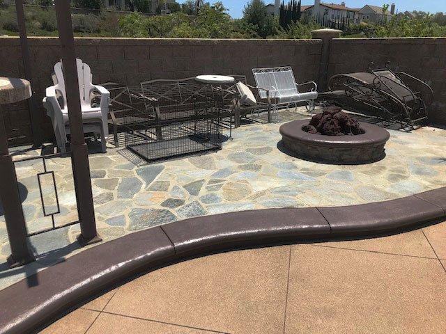 pool deck recoloring