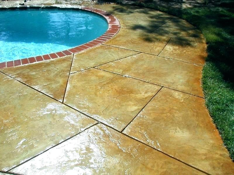 pool deck glossy sealers