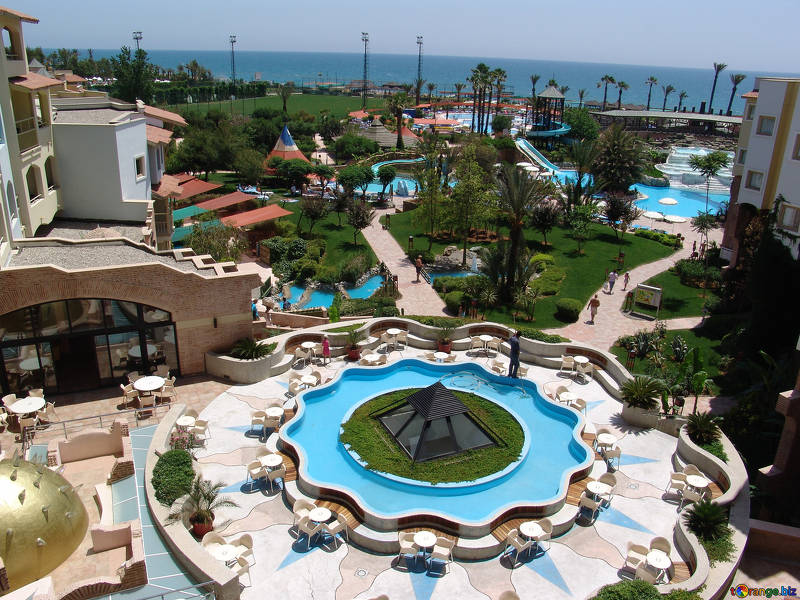 hospitality pool deck resurfacing